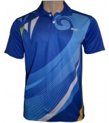 Performance Golf Shirt with sublimation print