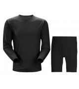 Compression Shirt/Pants Black